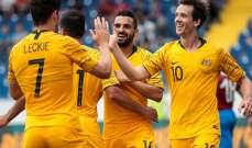 وديا : النيران الصديقة تمنح استراليا الفوز على المجر