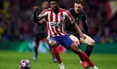 اتلتيكو مدريد يحدد شرطه لارسنال مقابل بيع بارتي