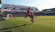 الليغ 1 : مونبيلييه وصيفا ً في مباراة الساعتين ونصف