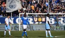 الاتحاد الايطالي يكتفي بتغريم لاتسيو بعد الهتافات العنصرية ضد بالوتيلي
