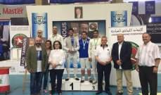 بطولات الاتحاد اللبناني للمبارزة : الألقاب لضو وابو جودة وديب ودكاش