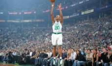 ابرز لقطات القناص راي الن في ملاعب كرة السلة