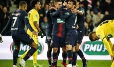 كأس فرنسا: الـ بي أس جي يحجز مكانه في النهائي بتفوقه على نانت بثلاثية