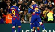 التشكيلة الرسمية لموقعة برشلونة واتلتيكو مدريد