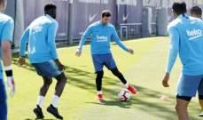 برشلونة يستعد للجولة الاخيرة امام ايبار