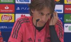 مودريتش: دوري أبطال أوروبا لها أهمية خاصة لدى ريال مدريد
