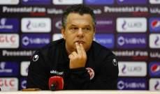 مدرب تونس : سعيد بالاداء القوي امام مصر رغم الخسارة