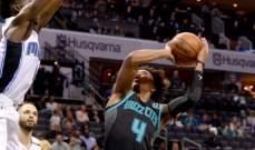 NBA : دالاس مافريكس يفوز على شارلوت هورنيتس