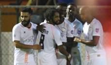 كأس محمد السادس: الشباب السعودي يتخطى شباب الاردن بصعوبة