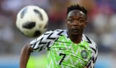 احمد موسى لاعب العام في نيجيريا