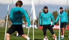 ريال مدريد يواصل استعداداته لمواجهة بلباو