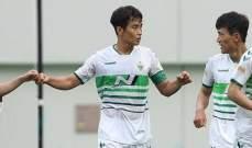 تشونبوك يستعيد صدارة الدوري الكوري الجنوبي