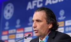 مدرب السعودية حزين للخروج من كأس آسيا