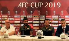 مرمر: راضٍ عن الفريق قبل مواجهة الجزيرة الأردني