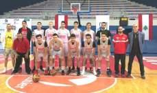 منتخب لبنان لكرة السلة تحت الـ 16 الى الصين للمشاركة في كأس آسيا