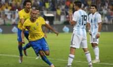 تقييم لاعبي مباراة البرازيل - الارجنتين