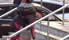 فريد وسانشيز يسخران من بيريرا بعد سقوطه