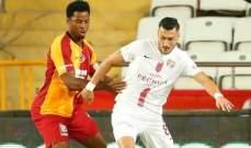 الدوري التركي: غلطة سراي يكتفي بالتعادل امام انطاليا سبور