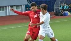 التعادل السلبي يحكم قمّة الكوريّتين في التصفيات الآسيوية المزدوجة