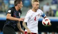 اتفاق بين الاتحاد الدنماركي ولاعبي المنتخب الاول