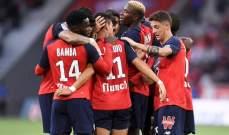 الدوري الفرنسي: ليل يُسقط انجيه بثنائية