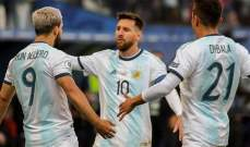 ميسي قد يغيب عن تشكيلة منتخب الارجنتين بسبب كورونا