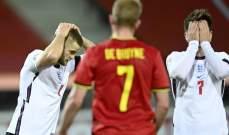 موجز الصباح: هزيمة انكلترا امام بلجيكا، ثنائية لايطاليا، توقعات ببقاء راموس مع الريال واعتزال ماسكيرانو