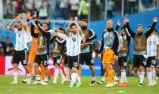 ميسي الافضل خلال مباراة الارجنتين ونيجيريا