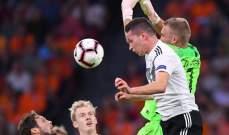 دراكسلر: أتحمل مسؤولية الهدفين الثاني والثالث أمام هولندا