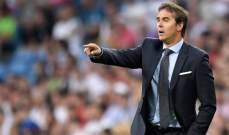 لوبيتيغي يريد تحقيق الفوز على اتلتيكو مدريد