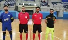ابرز نتائج الاسبوع في الدرجة الاولى والثانية لبطولة لبنان لكرة الصالات