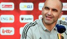 مدرب بلجيكا: خبرة اللاعبين ساهمت بالفوز في اللقاء