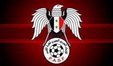 الاتحاد السوري يؤكد قرار نقل مبارياته الى دبي