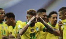 ابرز احصاءات مباراة البرازيل وفنزويلا