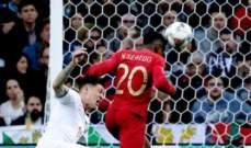 ركلة جزاء صحيحة لسويسرا امام البرتغال في نصف نهائي دوري الامم الاوروبية