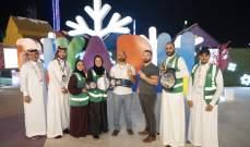 نجوم WWE يلتقون المعجبين في مهرجان وينتر وندرلاند في الرياض