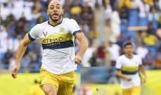 أمرابط يكشف حقيقة مطالبته النصر بتمديد عقده لسنة اضافية