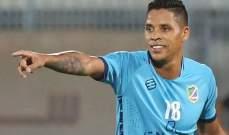 السالمية الكويتي يمدد عقد البرازيلي فابيانو ويوافق على اعارته