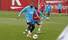 برشلونة يعود للتدريبات استعداداً لنهائي الكأس