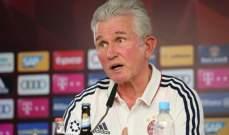 هاينكس : مواجهة هوفنهايم صعبة وفيدال لديه عقد حتى 2019