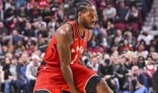 NBA: تورنتو يحافظ على سجله بدون هزائم في الموسم الجديد