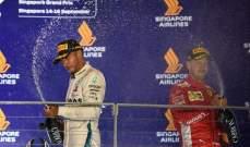 اليكس زناردي يرى أن فيتيل خسر السباق نحو لقب الفورمولا 1