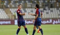 الدوري الاماراتي: فوز مريح للوحدة امام الظفرة