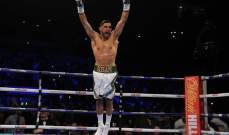 امير خان احتاج ل39 ثانية لاثبات نفسه بعد غياب لعامين عن حلبة الملاكمة
