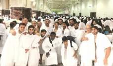لاعبو النجمة يؤدون مناسك العمرة في مكة