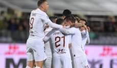 كالتشيو: روما يعود بفوز مهم من معقل فيورنتينا ويعزز مركزه الرابع