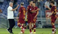 احصائيات عن فريق روما بعد الفوز على سيسكا صوفيا