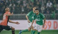 كأس فرنسا: الدقائق الاخيرة ترجح كفة سانت ايتيان امام رين ليضرب موعداً مع الـ بي أس جي