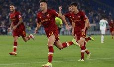 ارقام واحصاءات بعد مباراة روما وساسولو
