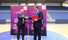 مروان حايك يجدد الثقة بمنتخب لبنان وامكانية رعاية بطولة لبنان لكرة السلة